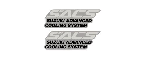 1991 GSXR750 SACS Logo Decals | RDdecals com motorcycle